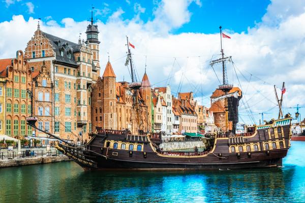 Altstadt Danzig Polnische Ostsee
