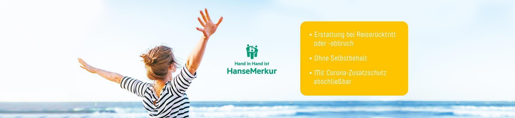 HanseMerkur Reiserücktritt