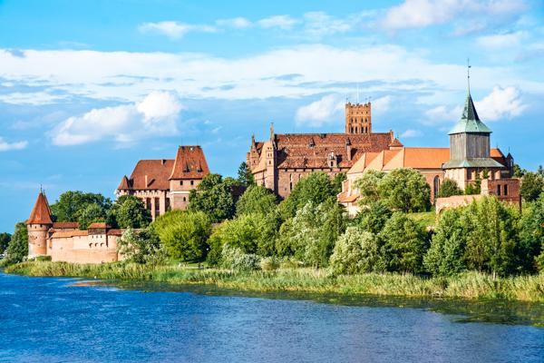 Schloss Malbork Polnische Ostsee