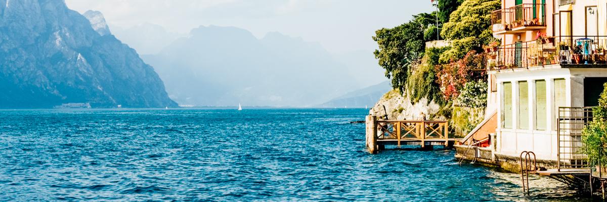 Gardasee in Italien