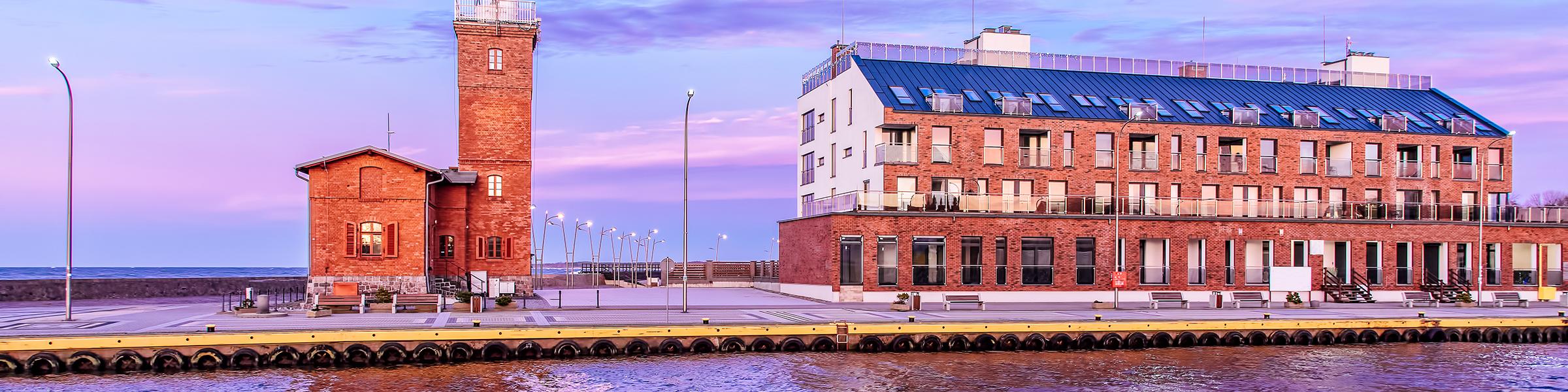 Leuchtturm Darlowko Polnische Ostsee