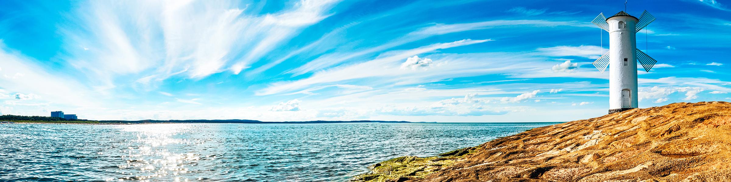 Leuchtturm Swinemünde Polnische Ostsee