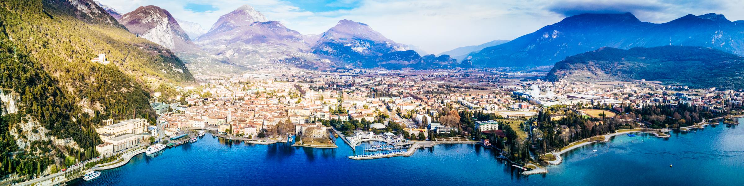 Riva del Garda am Gardasee, Italien