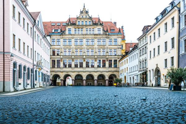 Altes Rathaus in Görlitz - Film-Drehorte in Deutschland