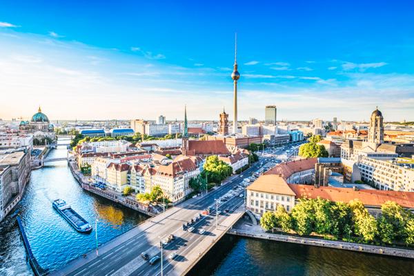 Sicht auf Berlin - Film-Drehorte in Deutschland
