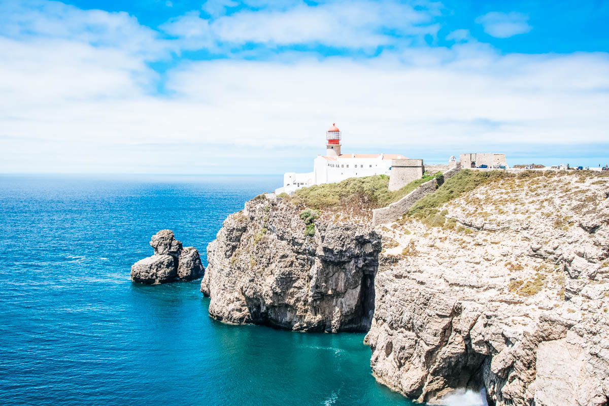 Leuchtturm Cabo de Sao Vincente - Roadtrip entlang der Algarve