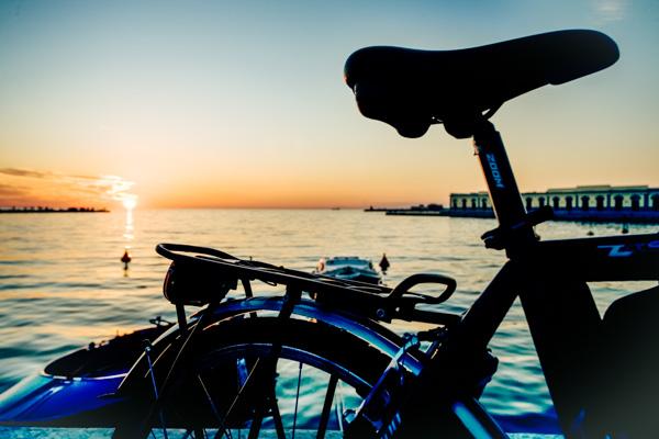Fahrrad am Meer - Familienurlaub an der Adria