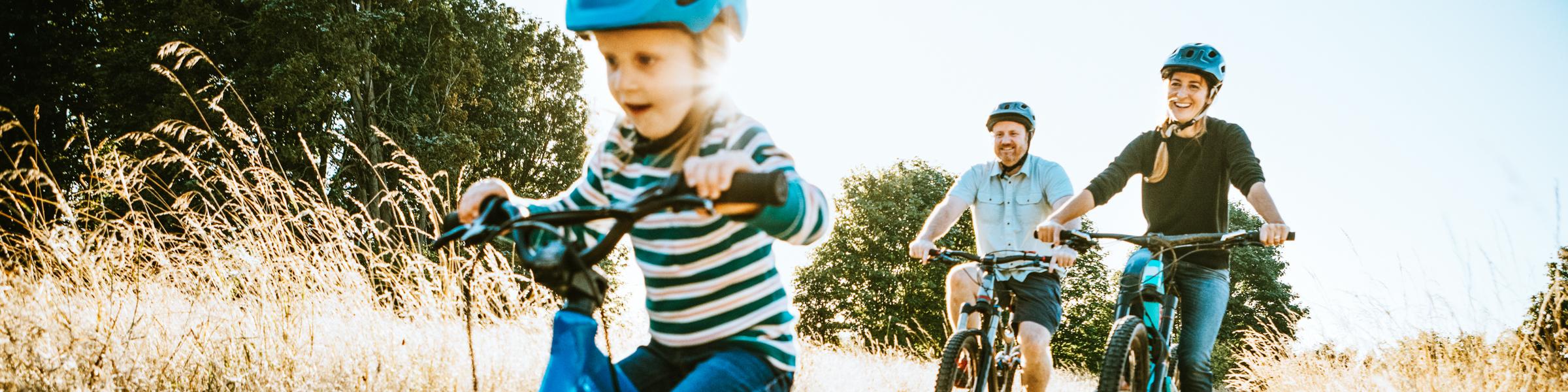 Fahrradtour Familie