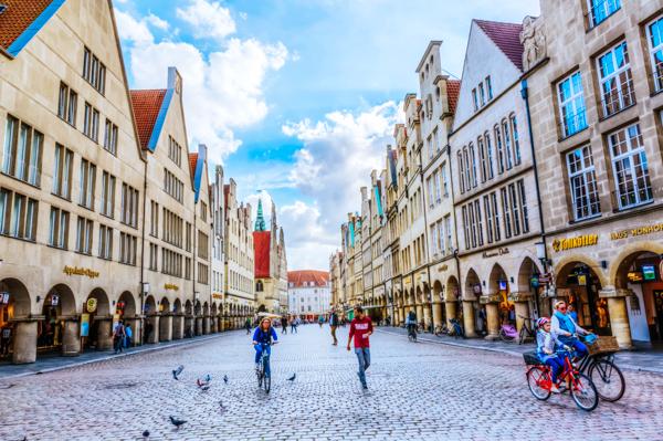 Münster Innenstadt - Fahrradtour