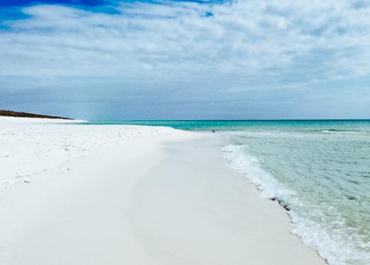 Strand von Pensacola in Florida