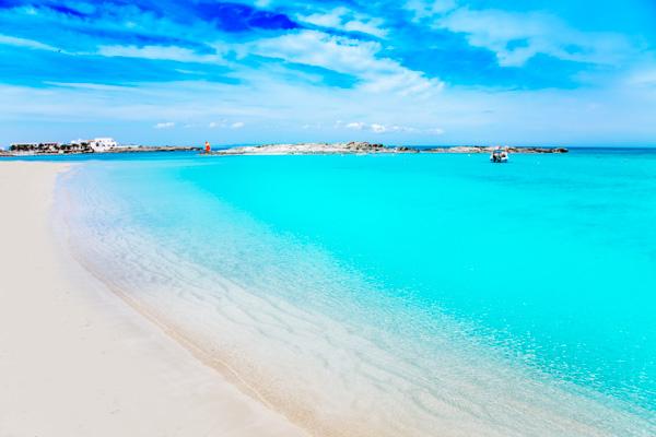 Strand von Formentera - Familienurlaub auf den Balearen