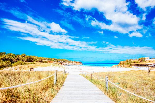 Strand von Formentera - Reise-Podcasts