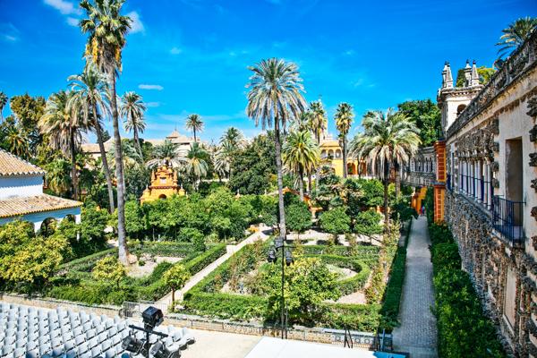 Gärten Reales Alcazares - GoT-Drehorte