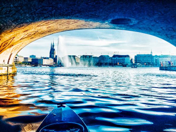 Alsterrundfahrt Hamburg - Wochenendtrips