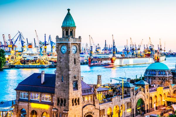 Hamburger Hafen - Film-Drehorte in Deutschland