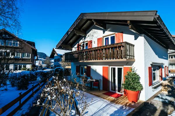 Hausansicht des Chalet Alpin