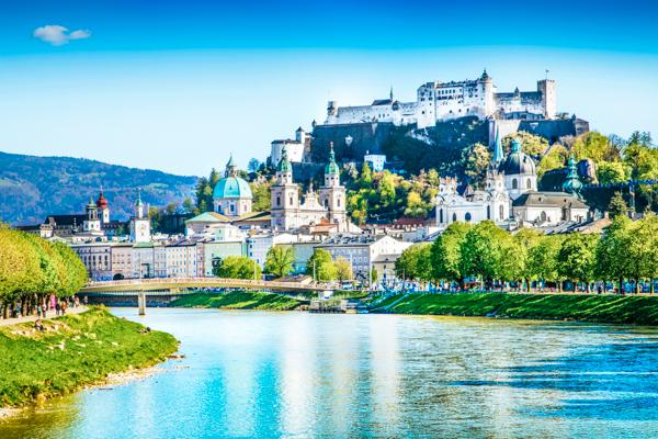 Historische Stadt Salzburg