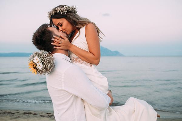 Küssendes Paar auf Hawaii - Hochzeitslocations