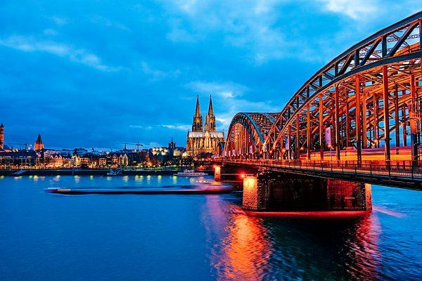 Hohenzollernbrücke Köln, NRW