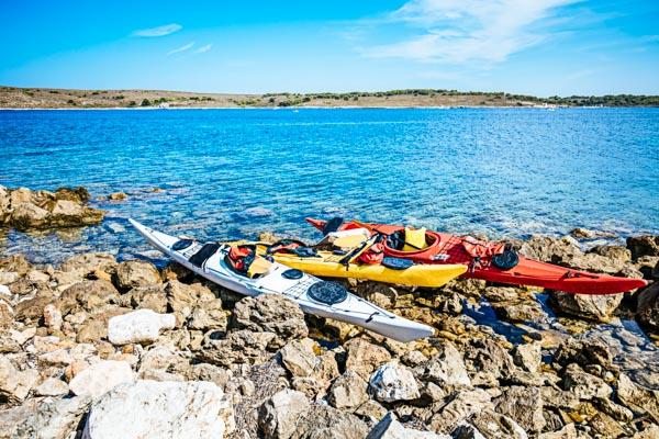 Kajak fahren auf Ibiza - Aktivurlaub auf den Balearen