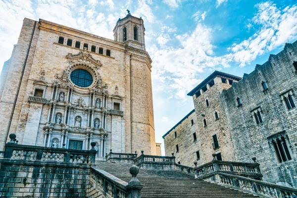 Kathedrale in Girona - GoT-Drehorte