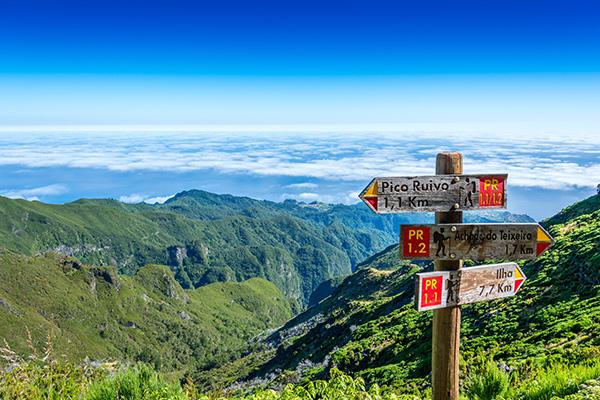 Wandern auf Madeira - Reiseziele im Frühling
