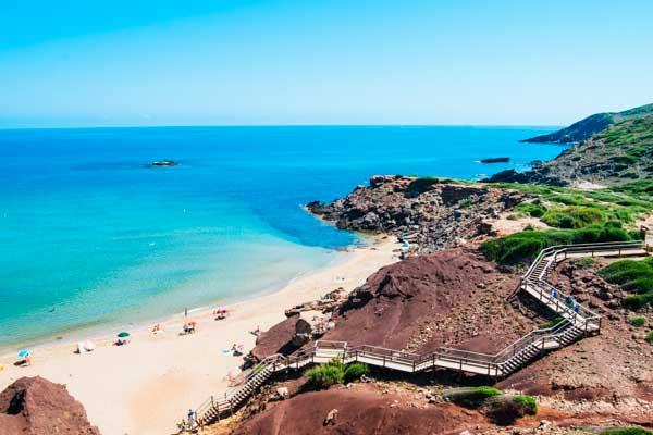 Strand auf Menorca - Strandurlaub auf den Balearen