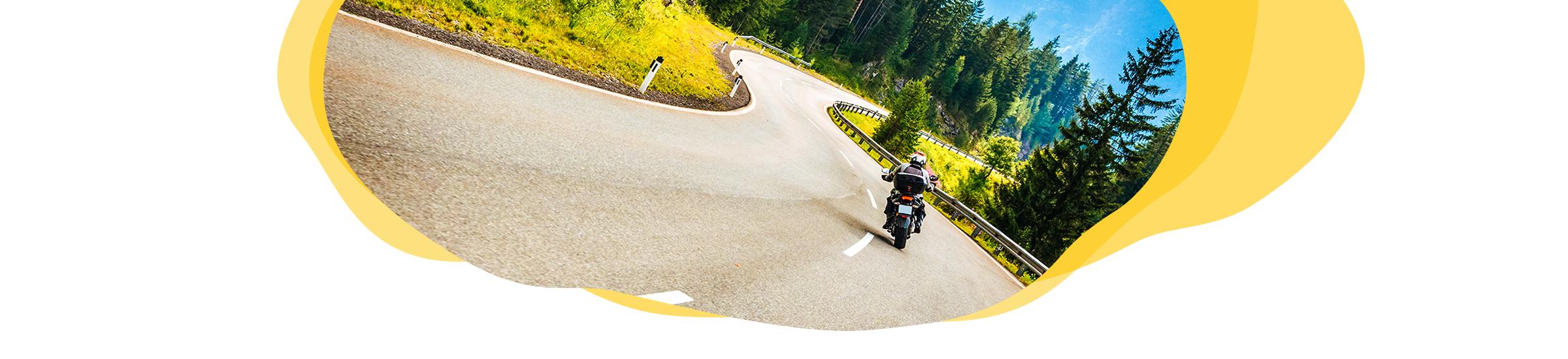 Motorradreisen Header