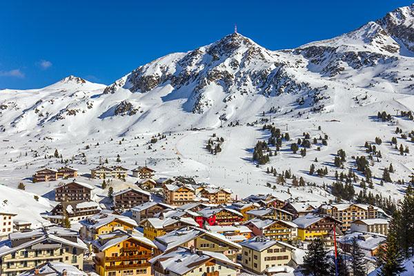 Schneelandschaft in Obertauern - Weihnachten im Schnee