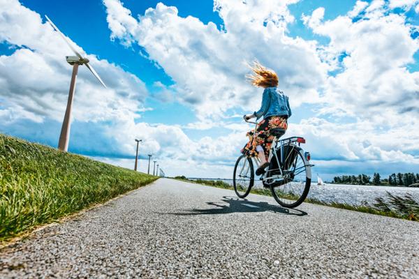 Radfahren an der Küste - Fahrradtour