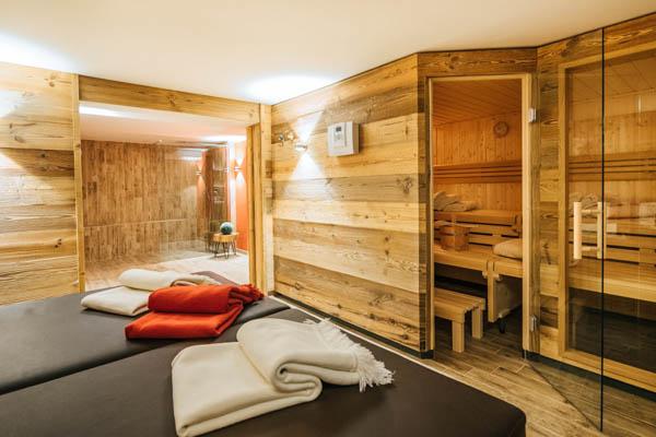 Sauna im Chalet Alpin