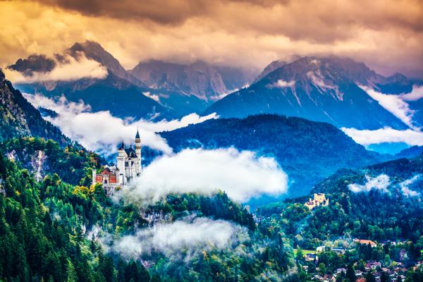 Schloss Neuschwanstein - Film-Drehorte in Deutschland