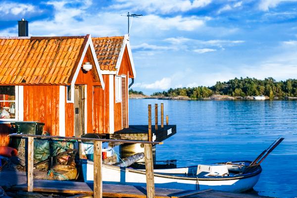Schwedische Naturlandschaft