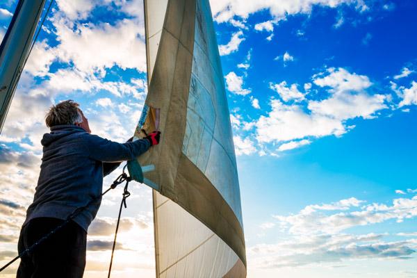 Segeln beim Aktivurlaub auf den Balearen