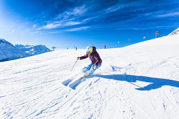 Skifahren in den Dolomiten - Weihnachten im Schnee