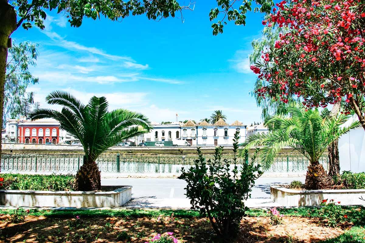 Tavira Gärten - Roadtrip entlang der Algarve