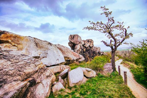 Teufelsmauer im Harz - Film-Drehorte in Deutschland