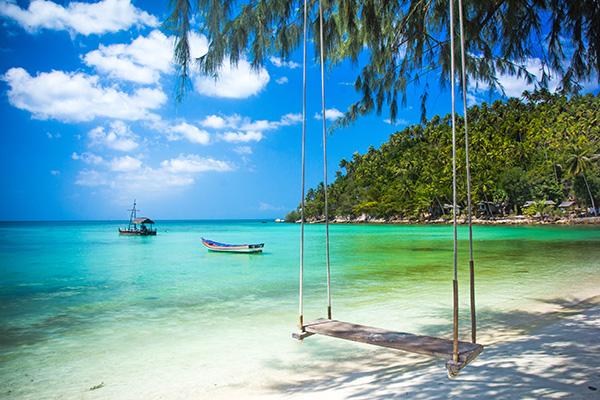 Strand in Thailand - Reiseziele im Frühling
