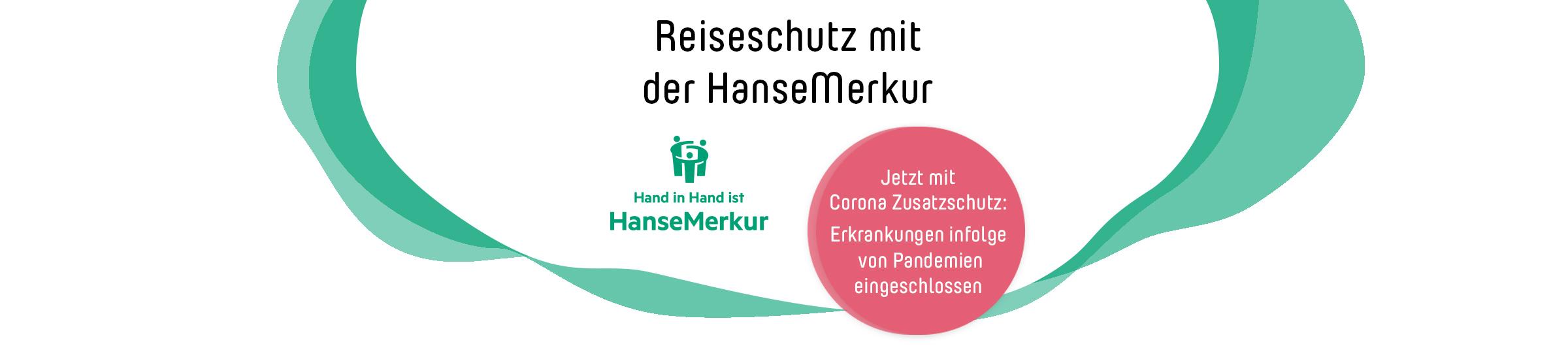 Reiseschutzversicherung für Ferienunterkünfte der HanseMerkur