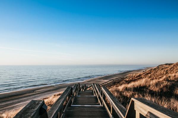 Strand- und Dünenlandschaft auf Sylt