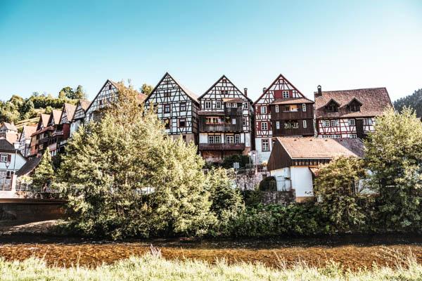 Fachwerkhäuser im Schwarzwald