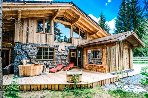 Außenansicht Berghütte Wildererhütte