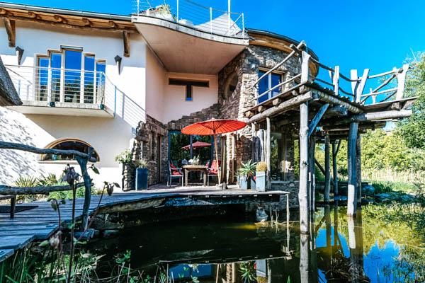 Außenansicht Luxus-Villa Wörthsee