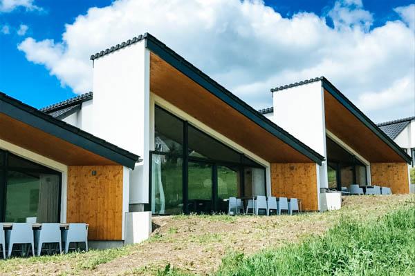 Außenansicht der Villa 7 Winterberg