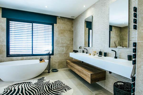 Badezimmer der Villa La Loriade