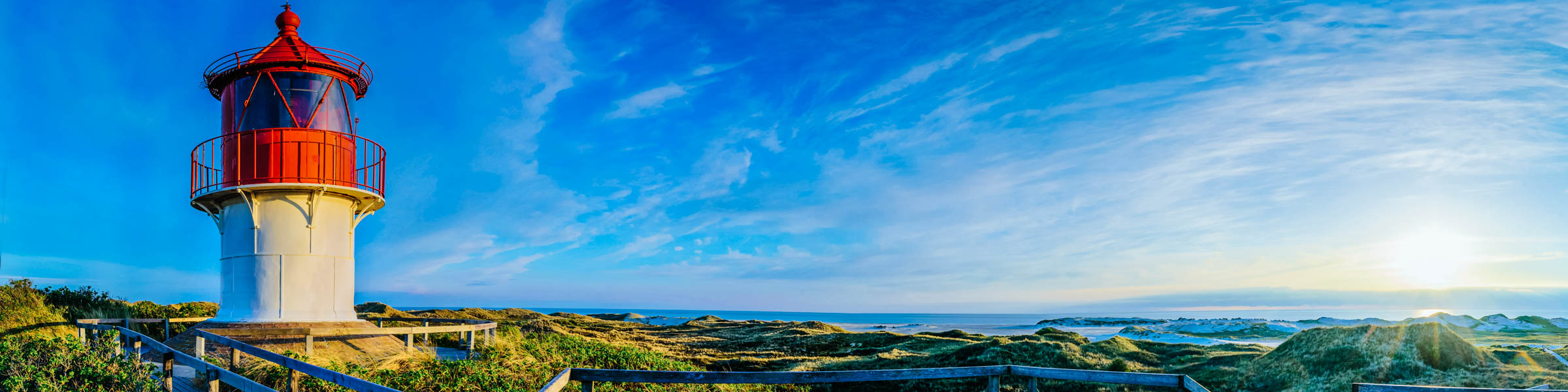 Leuchtturm und Aussichtspunkt auf Amrum