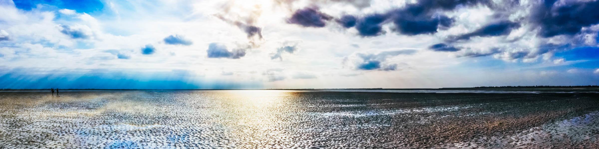 Wattenmeer auf Baltrum