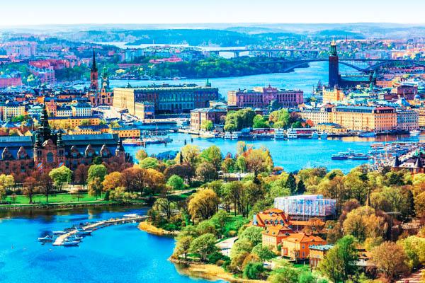 Stockholm aus der Vogelperspektive – Familienurlaub in Schweden