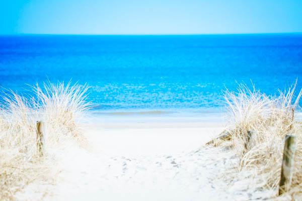 Strandzugang zum Strand und der Ostsee