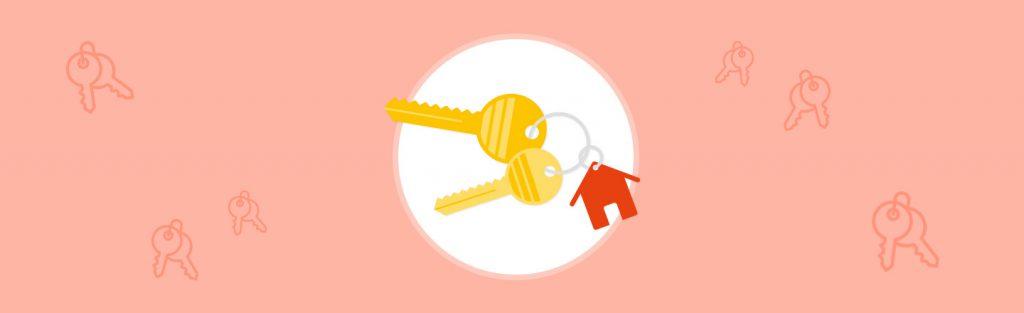 Schlüsselübergabe organisieren